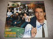Huey Lewis And The News Signed Sports Album By 5 Orig Members / Epperson Loa
