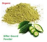 Organic Bitter Gourd Powder With Seeds Reduces Blood Sugar In Diabeticpatients