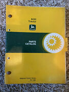 Vintage John Deere 8430 Tractor Parts Catalog Pc-1485 Ships Quick And Free