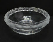 Lalique Crystal Mesanges Bird Bowl, With Box, 9 3/4