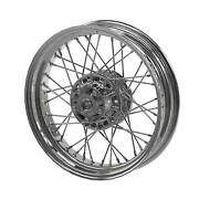 Indian Motorcycle Steel 16 In. Laced Front Wheel Chrome