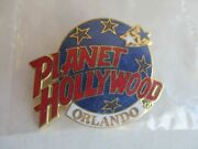 Planet Hollywood Orlando Fl 1.5 Soft Enamel And Gold Plated Logo Tie Lapel Pin