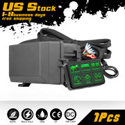 6gang Switch Panel Electronic Relay System For Led Work Light Bar Waterproof 12v