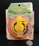 Rare Superman / Rocky And Bullwinkle Kenner's Easy Show Movies Film 1969