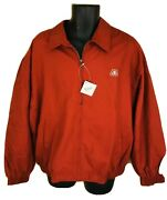 New With Tag Pioneer Seed Jacket Coat Maroon With Plaid Lining Menandrsquos Size Xl