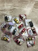 Nascar Mail Away And Promo Lot Kelloggs Pull-n-go Cars 13 Pieces Sealed