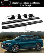 Fits For Audi Q8 2019 2020 Deployable Running Board Side Step Nerf Bar