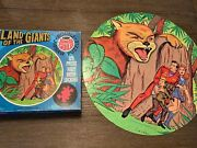 Vintage Whitman 1969 Land Of The Giants Round Jigsaw Puzzle 125 Complete