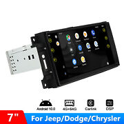 Android 10 Aftermarket Head Unit For Jeep Wrangler Jk Radio With Canbus 64gb Rom