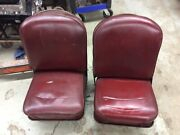 1955 Chevy Panel Truck Front Seats