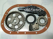 Peugeot 404 Timing Set Gears /chain /seal / Tensor New Recently Made
