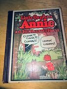 Little Orphan Annie Antique Book Haunted House 1928 Harold Grey