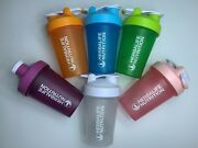 New 400ml Portable Herbalife Nutrition Shaker Bottles Bpa-free With Wire Whisks