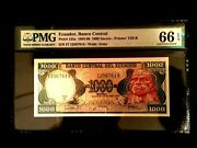 Ecuador 1000 Sucres 1984 Banknote World Paper Money Unc Currency - Pmg Certified