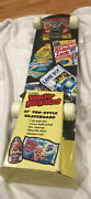 Wacky Packages 31andrdquo Pro Style Skateboard 52mm Pvc Wheels New - See Description
