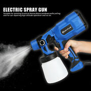 Portable Electric Small Spray Gun 550w Power Tool Home Electric Paint Sprayer Us