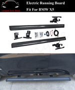 Deployable Electric Running Board Side Step Nerf Bar Fits For Bmw X5 E70 2011-13