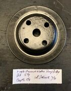 Mopar Single Groove Water Pump Pulley 5 1/4andtimes 1 1/8 Inch See Pics For More Detail