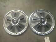 Vintage 1966 Ford Mustang 14 Hubcaps Wheel Cover - Used