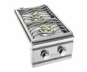 Summerset Trl Series Built-in Double Side Burner Trlsb-2-ng, Natural Gas
