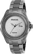 19162 47mm Pro Diver Swiss Sw200 Automatic Diamond Pave Dial Mens Watch