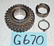 Used Oem ... And03949 - And03955 Mgtd Mgtf 2nd Gear Collar And Split Washers G670
