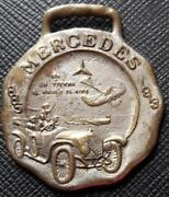 Nd Uruguay Eugenio Robert And Cia Mercedes Repesentant Rare Advertising Medal Car