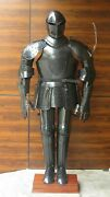 Suit Of Armour 17th Century Collectible Medieval Knight Solid Steel Full Body