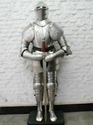 Collectible Medieval Knight Suit Armor Solid Steel Gothic Full Body Rare Armor