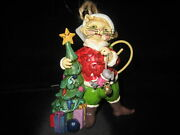 Jim Shore Ornament Lighthouse Cat Dog Bear Owl Eagle Poinsetta Bell Or St Franci