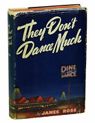 They Donand039t Dance Much James Ross First Edition 1940 Hard-boiled Novel 1st