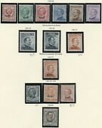 Italian Aegean Islands Rhodes Collection Of Mint Hinged Stamps-scott 3634.00