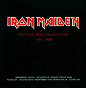 Iron Maiden Andlrmandndash Picture Disc Collection 1980-1988 2012 9 Lp Picture Disc New