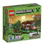 10 Ct Lot Lego Minecraft The First Night 21115 Nib Retired Mint