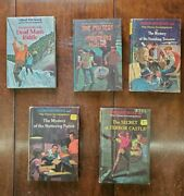 Lot Of 5 Alfred Hitchock Mystery Series. Vols 1, 2, 5, 18, 22.