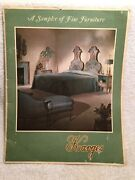 Vintage Catalog Karges Furniture Company Evansville In Beautiful Photos 1960s