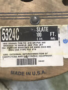 Alpha 5324c 19c/20wg Braided T/c Shield 100'roll New Old Stock