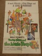 Darby O'gill And The Little People 1977 Reissue Walt Disney 27x41 Poster N7786