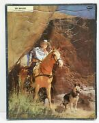 Roy Rogers Lot Of 3 Vintage Whitman 15x11 Frame-tray Inlay Puzzles 122019dbt2