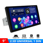 9 2.5d Screen Single Din Android 10 Car Multimedia Player With Android Auto Dsp