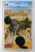Our Army At War 63 - Cgc 5.0 Vg/fn - Dc 1957
