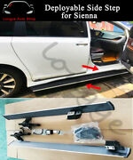 Deployable Electric Running Board Side Step Nerf Bar Fits For Sienna 2010-2020