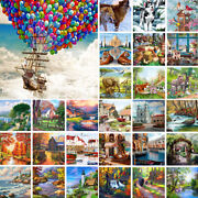Diy Scenery Animal Paint By Number Kit Acrylic Oil Painting Art Wall Home Decor