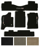 New Lloyd Carpet 4pc Floor Mats For 2015-2019 Cadillac Escalade With Crest Logo