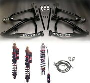 Houser Long Travel Xc A-arms Elka Stage 4 Front Rear Shocks Suspension Yfz450 04