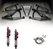Houser Xc Long Travel A-arms Elka Stage 3 Front Shocks Suspension Kit Trx450r 04