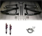 Houser +.5 Long Travel Mx A-arms Elka Stage 4 Front Shocks Suspension Yfz450r