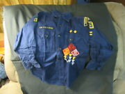 Harrisburg, Pa.1960's Cub Scout Long Sleeve Shirt And Hat    Hbg