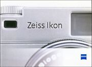 Used Zeiss Ikon Camera Product Brochure - Traditional Chinese 2006