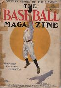 Very Rare May 1908 Baseball Magazine First Issue Condition Mlb Poor